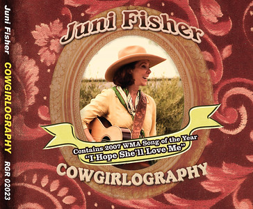 "March 2012 Juni Fisher Re-issue of ""Cowgirlography"""