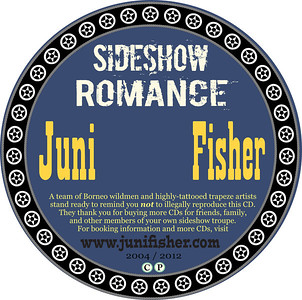 J Fisher SIDESHOW ROMANCE Disc UD100.indd