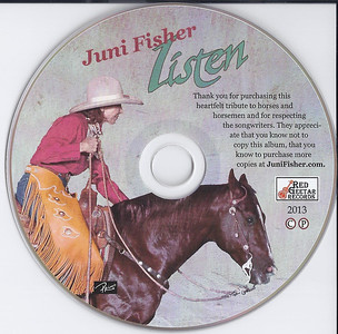 """Listen ... to the horse"" Disc"
