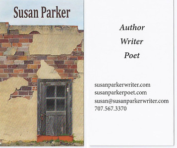 "November 2013 Susan Parker ""Angel on My Doorstep"" Coordinating business cards"