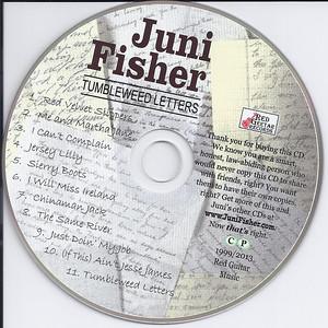 """Tumbleweed Letters"" Disc"
