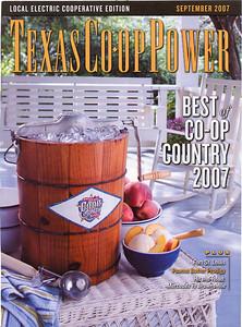 TEXAS CO-OP POWER September 2007  Texas USA Photos