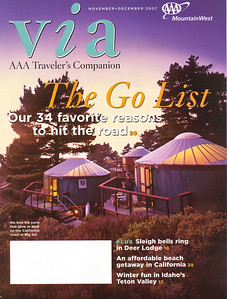 VIA: AAA TRAVELER'S COMPANION Mountain West Edition November/December 2007  On the Road Photo