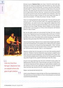 """MARYJANES FARM August/September 2008  """"City Girl, Country Girl, Farmgirl Soul"""" Stephanie Davis photo, page 12"""