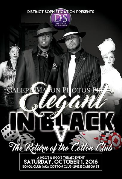 Elegant in Black V - Cotton Club
