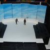 Horizon also painted onto 2 offstage panels