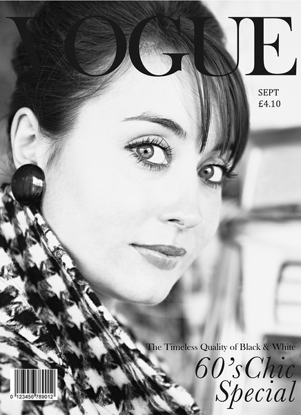 Sixties Chic Vogue Magazine Project - May 2011