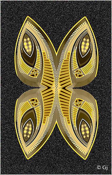 """Print title:  """" GOLEN BUTTERFLY  """"  /  FILE # _MG_0318  /  © Gj"""