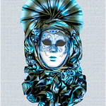"Print title:  ""  MADEMOISELLE EN BLUE "" / FILE # _MG_0321  /  © Gj"