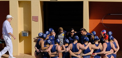 The #7 Nationally Ranked University of Michigan Women's Water Polo Team