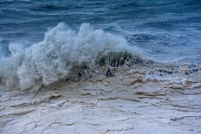 Muddy ocean