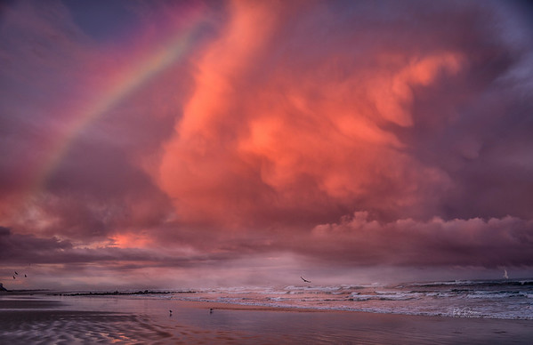 Nye Beach Rainbow