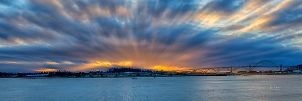 Zoomed Sunset