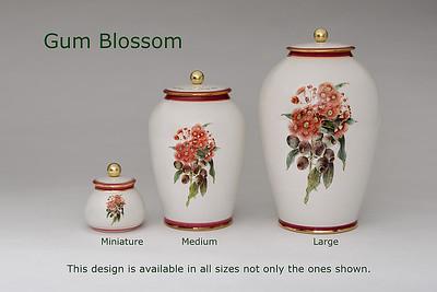Gum Blossom.........Available in Miniature,  Small,  Midi,  Medium,   3 Litre,  Large,  Double & Memento Jar.