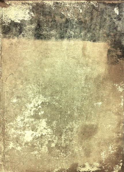 """Subway Rothko.""<br /> <br /> iPhone photo.<br /> <br /> The random patterns formed by layers and gobs of old wheat paste, or whatever glue is now used, to attach commercial billboards to subway walls are often interesting."