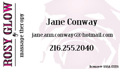 Rosy Glow Business Card