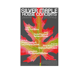 Silver Maple House Concert poster