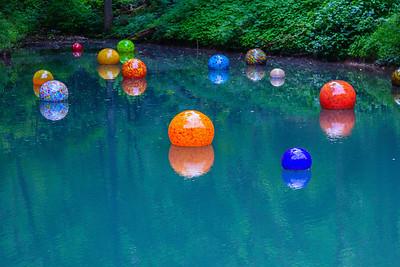 Pond exhibit