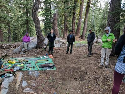 2017 Desolation Wilderness Service Trip