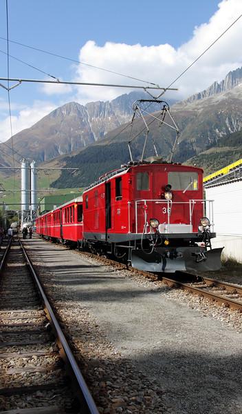 Switzerland - Desperate Railtours
