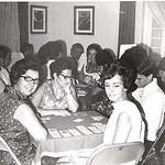 Canasta Dundo 1970  Zi Valente, Monserrate Canhão Veloso, Ze' João Mendonça, professora Graça Rebelo da Silva