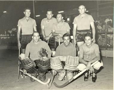 Andrada- Hoquei em patins  Braga, Ribeiro, Constantino, Carlos Silva, Samouqueiro, Moreira e Simão