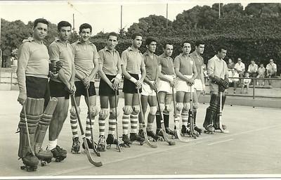 Medeiros, José Pereira, Caceiro, João Gonçalves, ?, Chico Viriato, Grilo, Fernandes,  Firmino, Benamor