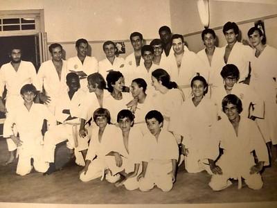 Judo - grupo de judocas
