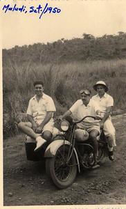 Maludi Setembro 1950 Enfermeiro Calleya, Fernando Melo Abreu e Eduardo Coelho