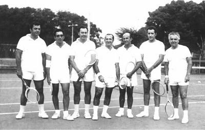 Alves Silva, Antonio Henriques, Claudio, Americo Teixeira, Cerejeira, Vasco Paulo, Pinto (enfermeiro)