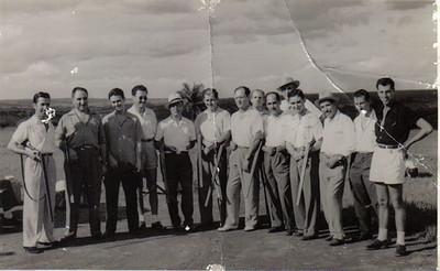 Dundo,Torneio de Fim de Ano, 1955-1956 Champlon, Medina ...
