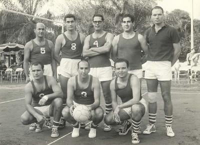 Cerejeira, Firmino, Ivo Silva, Nogueira, Amieiro; Magina, Braga e (?)