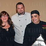 Amy Richter, Tony Boyd and Danilo Crilio with Ladyfinger Catering.