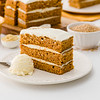 Carrot & Mustard Cake with Mustard & Fennel Ice-Cream