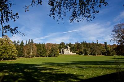 Kinnettles Castle, Angus, Scotland