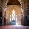 inside the Grande Mosquée Hassan II
