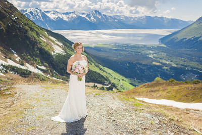 Girdwood Destination Wedding by Lena Stevens