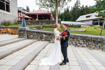 Girdwood Destination Wedding: Emily & Garry at Colony Glacier and Around Girdwood by Joe Connolly