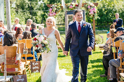 Wasilla Wedding: Carlie and Charlie at Gloryview Farm & Barn by Lena Stevens
