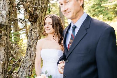 Cooper Landing/Girdwood Destination Wedding: Margot & Steven