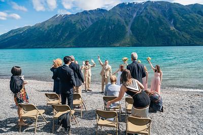Cooper Landing/Girdwood Destination Wedding: Margot & Steven by Joe Connolly