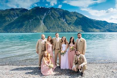Cooper Landing Wedding: Margot & Steven Around Cooper Landing by Joe Connolly
