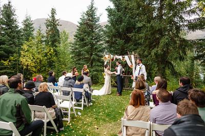 Cooper Landing Wedding: Jazmin & David at Alaska Heavenly Lodge and Kenai Lake by Shannon McGuire