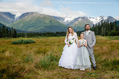 Girdwood Destination Wedding: Miranda & Zach by Joe Connolly