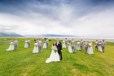 Anchorage Wedding: Alyssa & Nash at Carr-Gottstein Park by Lena Stevens