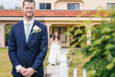 Anchorage Wedding: Alyssa & Nash at Our Lady of Guadalupe by Lena Stevens