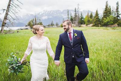 Girdwood Destination Wedding: Monica & Doug by Joe Connolly