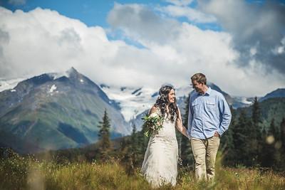 Girdwood Destination Wedding: Ngaire & Glenn by Joe Connolly