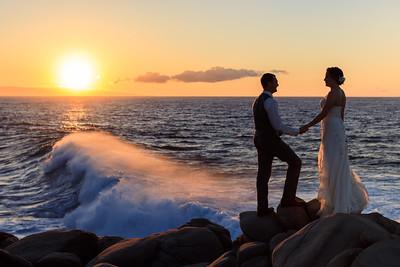 Destination Wedding: Leslie & Tanner in Maui, HI by Joe Connolly