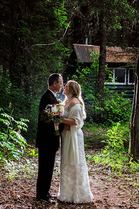 Juneau Destination Wedding: Julie & HJ at Taku Glacier Lodge by Joe Connolly